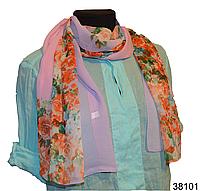 Весенний шифоновый шарф Кармен (код: 38101), фото 1
