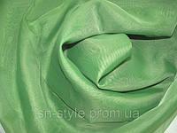 Тюль Шифон светлая зелень