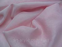 Тюль Шифон розовый светлый