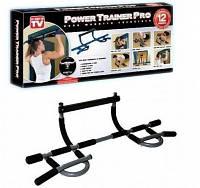 """Турник в дверной проем """"Power Trainer Pro"""" 12 видов упражнений для мужчин и женщин весом до 135 кг."""