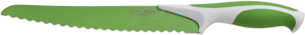 Нож Boker ColorCut Bread Knife зеленый