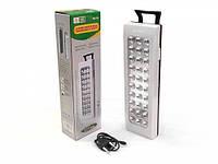 Диодная аккумуляторная лампа-фонарь 30 светодиодов HG-716