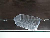 Упаковка для ягод и фруктов, пинетка, корзинка тара полипропиленовая прозрачная П 1.17.500