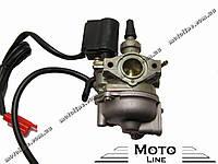 Карбюратор в сборе на скутер 2т Honda DIO 18/25/27/28/Takt 24 GXmotor