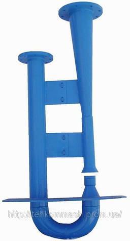 Гидроэлеватор dс40 dр80 для удаления осадка из водоприемных камер, песколовок и нефтеловушек, фото 2
