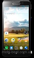 "Смартфон Lenovo P780, дисплей 5"", Android 4.2, камера 8 Мп, 4000 mAh, 2 SIM, четырёхъядерный процессор 1.2 ГГц, фото 1"