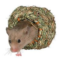 Гніздо Trixie Grass Nest для гризунів кругле, 10 см