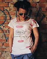Женская футболка в расцветках Китай Цвета РОО