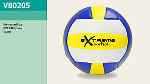 Мяч волейбольный vb0205, pvc 280 грамм