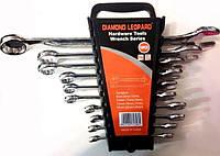 Рожково Накидные Гаечные Ключи Diamond Leopard Набор 10 Инструментов.