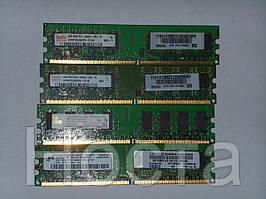 Б/у Оперативная память DDR2 2Gb 533/667/800 MHz