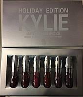 Набор жидких матовых помад Kylie 6шт.
