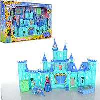 Замок принцессы Холодное сердце/Frozen 2997: замок принцессы с мебелью + фигурка + свет/звук