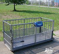 Весы для взвешивания свиней Аксис 4BDU300Х-0615, до 300кг