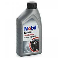 Mobil 2T Extra (Mobil, моторное (2-х тактный двигатель, мото техника), Полу-синтетическое, 1 литр)