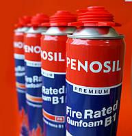 Полиуретановая огнестойкая профессиональная монтажная пена Penosil Fire Rated Gunfoam B1 750 ml