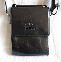 Мужская сумка через плечо барсетка Планшет 21х17см