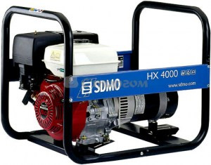Генератор бензиновий SDMO HX 4000 C