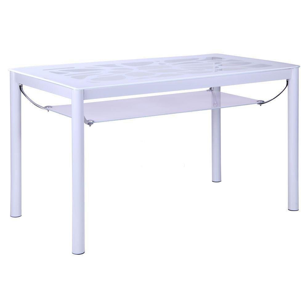 Стеклянный стол обеденный B21-2