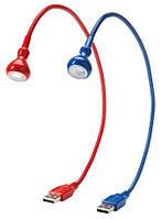 ЯНШО Светодиодная USB лампа, красный, 30269501, IKEA, ИКЕА, JANSJO