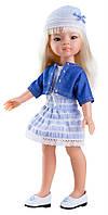 Кукла Paola Reina Маника в голубом 32 см (04406)