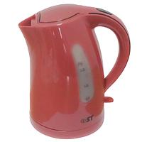 Электрочайник ST 45-222-17 Dark pink (Saturn, 21,5*16,5*23,5 см, 1/1,16 кг, 2200 Вт, 1,7 л, Электрочайник)