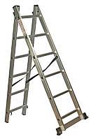 Лестница универсальная 2-х составная Кентавр 2*10н (Кентавр, 3, 10, 11,2 кг, Алюминий, 280 мм, Лестница)