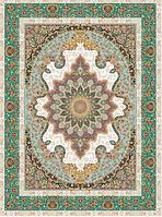 Иранский ковер (Персидский),  коллекция  Zarrin  2, Elmira, Сreem & Green