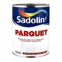 Лак для пола Sadolin Parquet 20 1л - Полуматовый лак для паркета (Садолин Паркет 20)