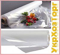 Пленка белая 30 мкм (3м*100 мп) прозрачная, полиэтиленовая