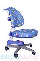 Детское компьютерное ортопедическое кресло растишка Ergoway M300 blue