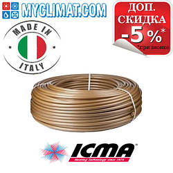 Трубы из сшитого полиэтилена Icma Floor Pex A 16x2.0 EVOH