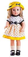 Кукла Paola Reina Эмма в желтой шляпке 40 см (06009)