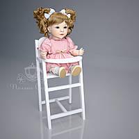 Кукольный стульчик для кормления МДФ, ольха