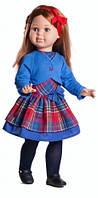 Кукла шарнирная Paola Reina Сандра в синем платье 60 см (06548)