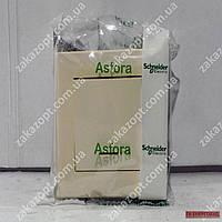 Вимикач 1-кл з підсв крем Asfora