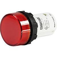 MBSD220K Моноблочная светосигнальная арматура светодиодная 220В красная (плоское стекло)
