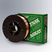 Проволока омедненная сварочная AS SG2 1.0мм 5кг фасовка Askaynak