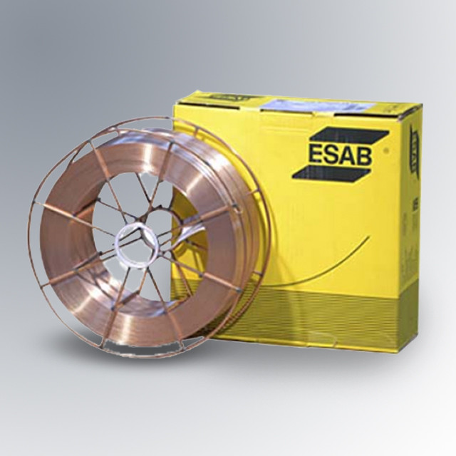 Сварочная проволока омедненная OK Autrod 12.51 ESAB  0,8 mm 5 kg