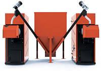 Котел пеллетный LIBERATOR KOMPACT200 (2xMulti100)+бункер 1,5м.куб.+шнеки 3м