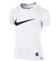 Детская футболка с коротким рукавом Nike Pro Cool HBR Compression JUNIOR 726462-100