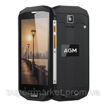 Смартфон AGM A8 IP68 3 32GB Black, фото 2
