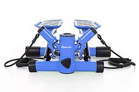 Степпер для дома с эспандерами Hop-Sport HS-30S