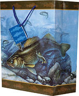 "Пакет подарочный Riversedge Walleye Gift Bag 10"" x 13"" x 5""Пакет подарочный Riversedge Walleye Gift Bag 10"" x 13"" x 5"""