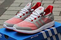 Кроссовки Adidas Bounce (серые с красным) летние кроссовки адидас adidas