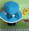 Шляпа летняя бант, фото 2