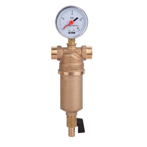 """Самопромывной фильтр для воды 2"""" ICMA арт.750 -  «Мой Климат» интернет-магазин в Ровно"""
