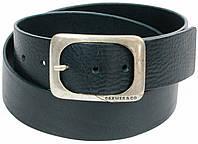 Мужской кожаный ремень под джинсы, Cramer & Co, Германия, 100152 темно синий, 4,5х112 см