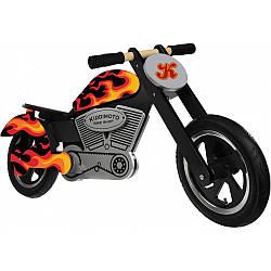 "12"" Kiddi Moto Chopper Flames деревянный"