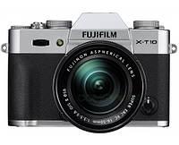 Фотокамера беззеркальная Fujifilm X-T10 Kit 16-50 Silver